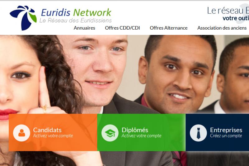 euridis network, anciens, entreprise, outil, annuaire, offres