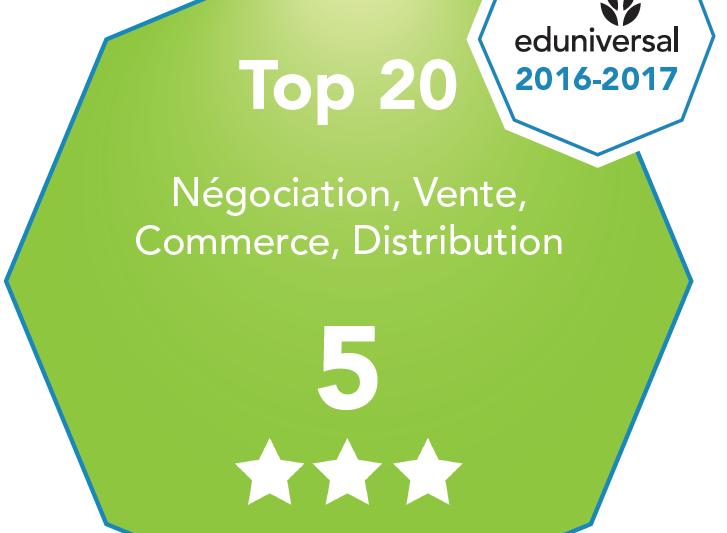 Lors de l attribution de la 5ème place au classement SMBG Négociation,  Vente, Commerce et Distribution, les étudiants en bachelor vente et  négociation ... 50663d636fe3
